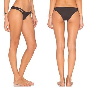 Vitamin A Neutra Hipster Bikini Bottom in Earth
